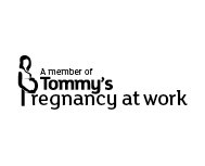 A Member of Tommy's Pregnancy at Work Logo.