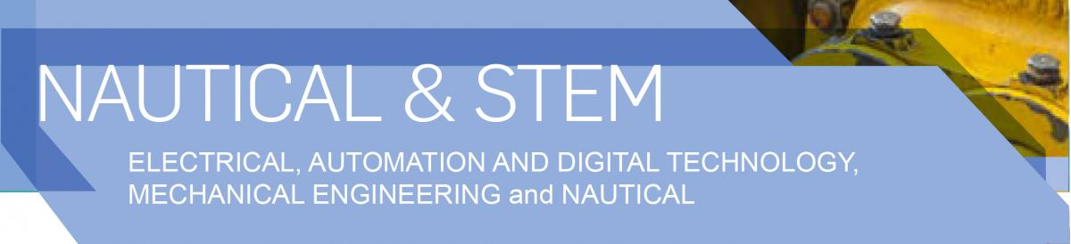 Link to information on full time courses in the Faculty of Nautical and STEM