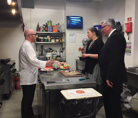 Cabinet Secretary for the Rural Economy, Fergus Ewing and Minister for Public Health, Aileen Campbell discuss what's ahead for newly appointed National Chef Gary Maclean