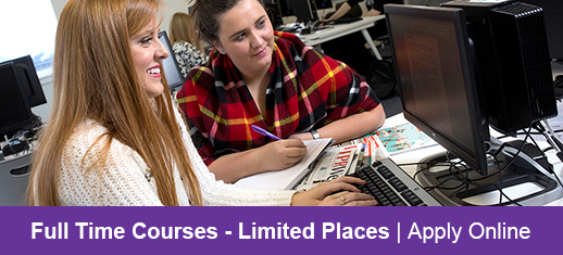 Full Time Courses - Limited Places | Apply Online