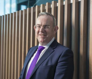 Paul Little, Principal and Chief Executive