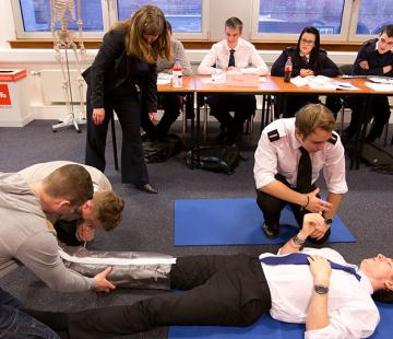 MCA (STCW) First Aid Courses