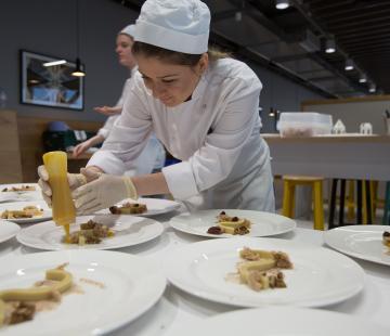 Winning approach to culinary skills