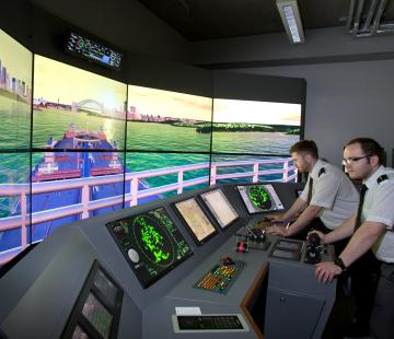 Ship's Simulator and Engine Room