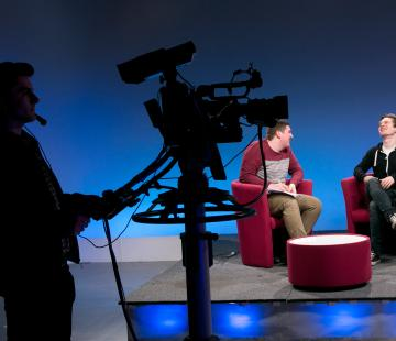 Television Studio, Post-production Resources, Photography Studio and Darkroom