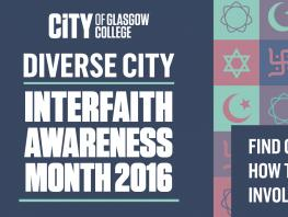 City of Glasgow College - Interfaith Awareness Month