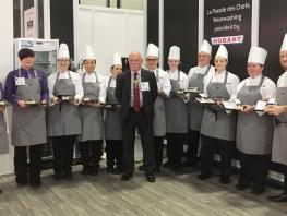 CoGC HND Hospitality and Professional Cookery students at Great Hospitality Show