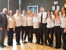 CalMac Hospitality Apprentices graduate from City of Glasgow College