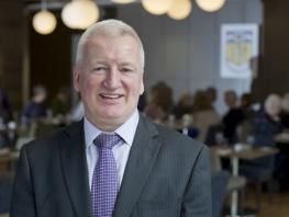 Gordon McIntyre, Curriculum Head for Hospitality, City of Glasgow College
