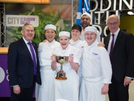 Super College wins International Cook Off