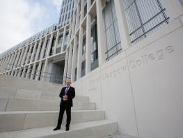 City of Glasgow College Principal & Chief Executive, Paul Little