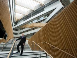 City of Glasgow College Principal & CEO, Paul Little