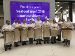 City of Glasgow College supports Seafood Week 2019