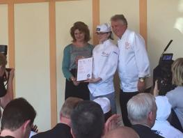 Courtney McDowell, Springboard Future Chef 2016 Runner-Up