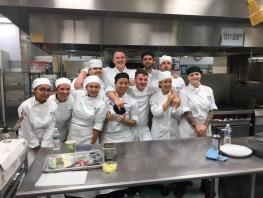 City of Glasgow College Professional Cookery students winners of Atlantic Challenge Cup 2017