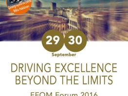 College nominated for EFQM 2016 Excellence Award