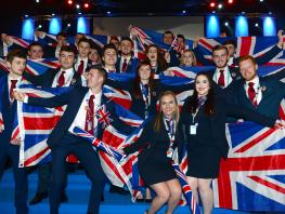 Team UK EuroSkills 2016 Closing Ceremony