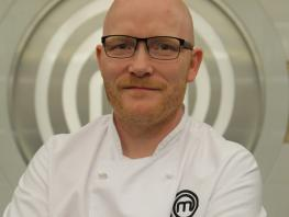 Chef lecturer Gary MacLean City of Glasgow College