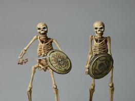 Ray HarryHausen: Titan of Cinema_Models of Skeletons from Jason and the Argonauts