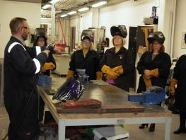 Maritime Careers Event - Welding Workshop City of Glasgow College