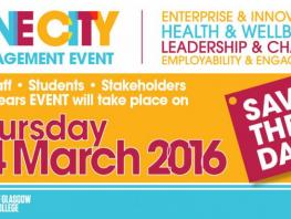 ONE CITY Staff Event - Save the Date