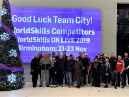 Team City head to WorldSkills UK LIVE 2019