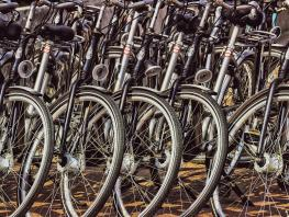 Generic images of bicycles