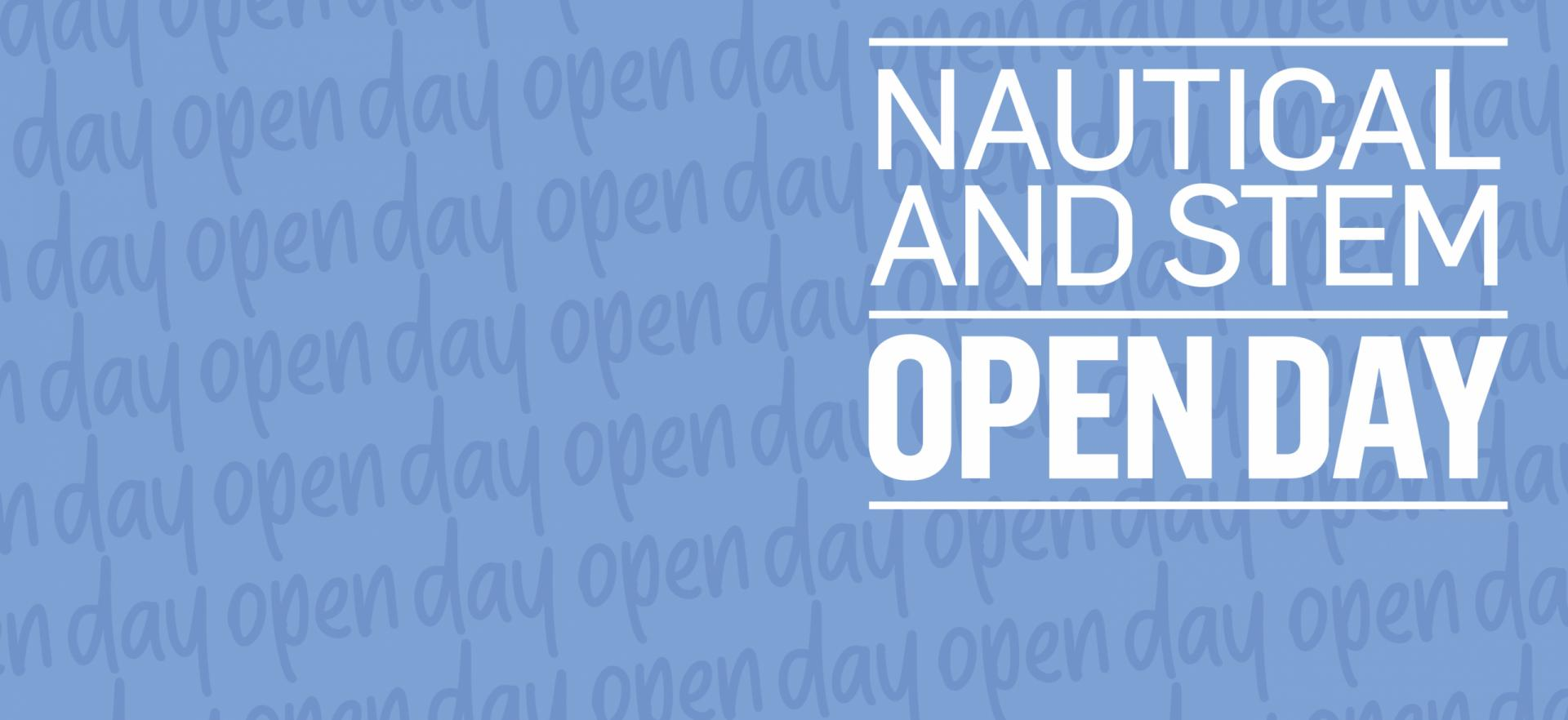 Nautical and STEM Open Day