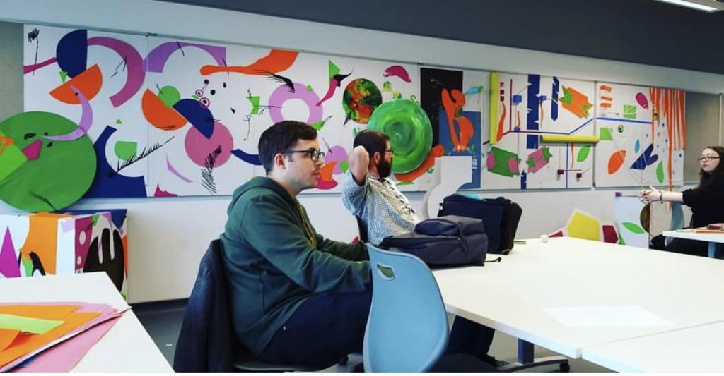 Creative industries classroom