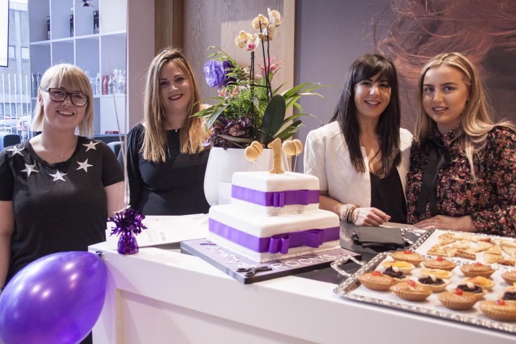 Amethyst Salon CoGC (LtoR) Rebecca Walker, Laura McKechnie, Cristina Devine, Chloe Anderson