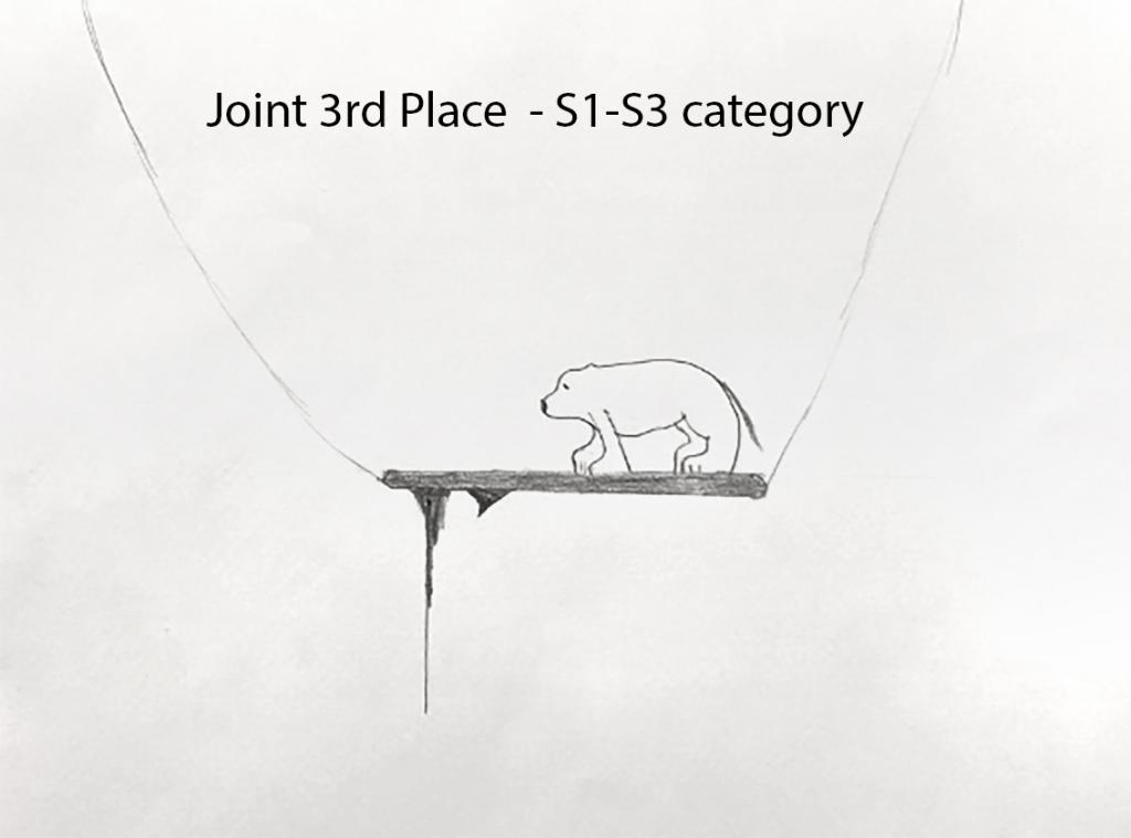 Image of joint third place design by Archie Titterington, S1-S3, Portobello High School