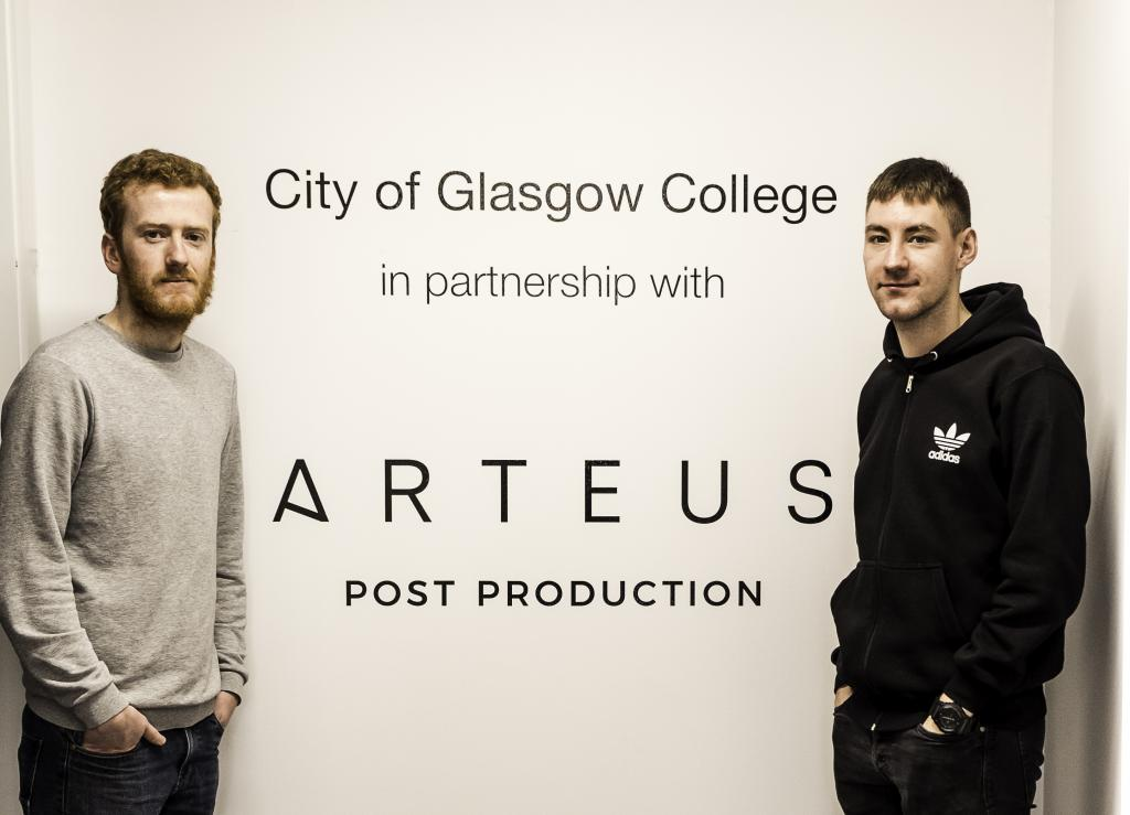 Arteus Post Production_Joe Sharpe (L) and Jamie Murray (R)