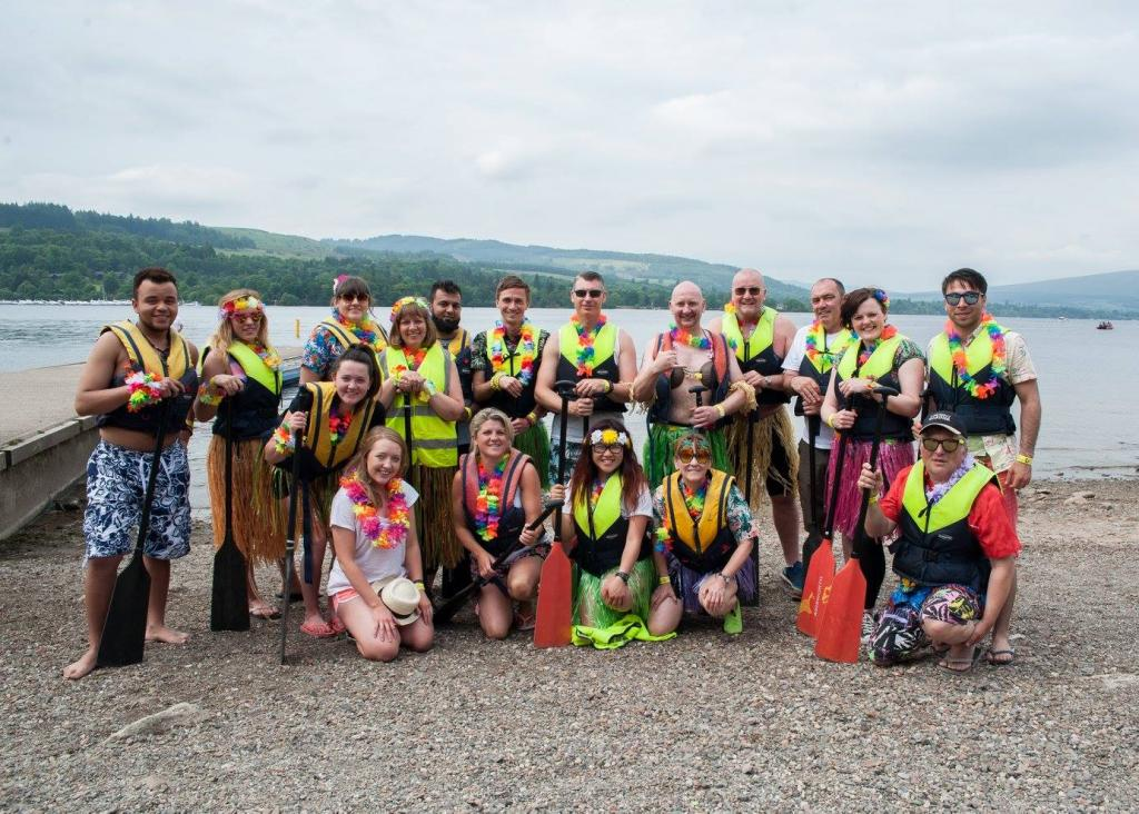 Bobath Dragon Boat Race - Team City