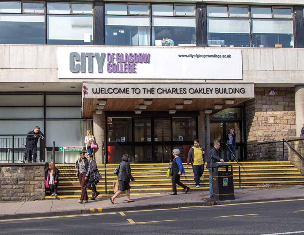 City of Glasgow College, Charles Oakley Building