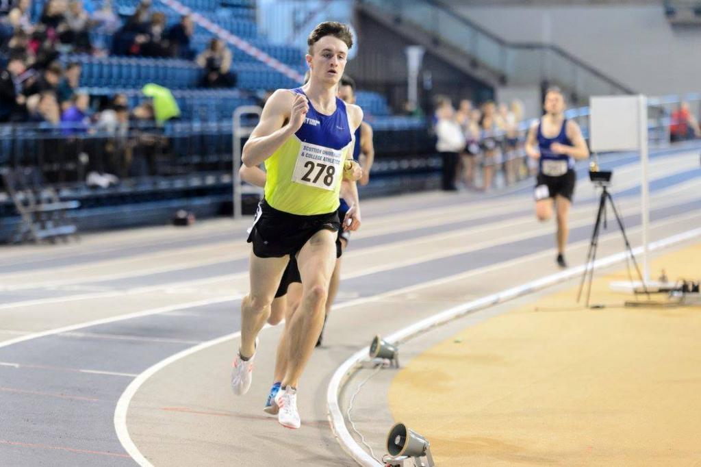 Callum Drummond, CoGC Sports Therapy Student (800m)