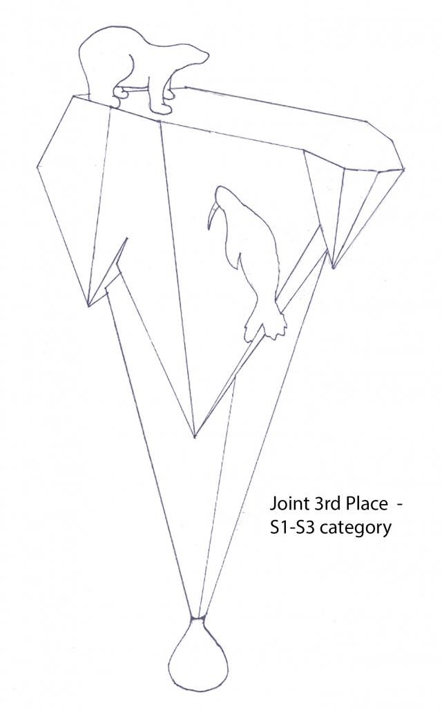 Joint third place, Calum Gillespie, S1-S3, McLaren High School