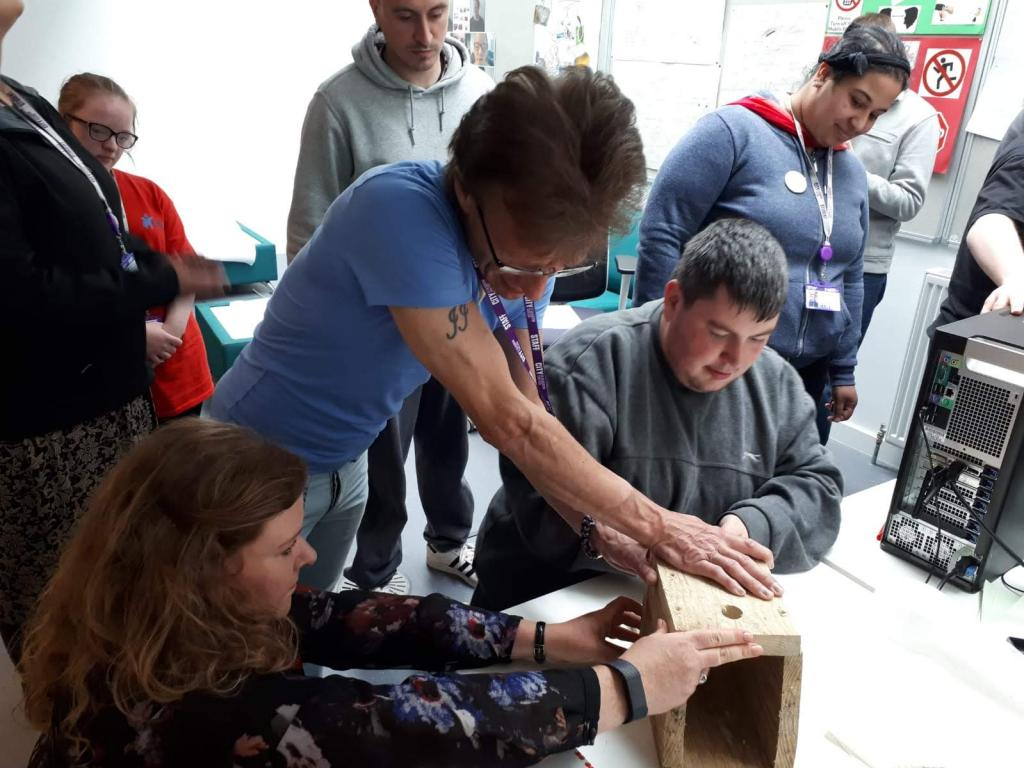 CoGC NQ Personal and Social Development students_Birdbox Workshop