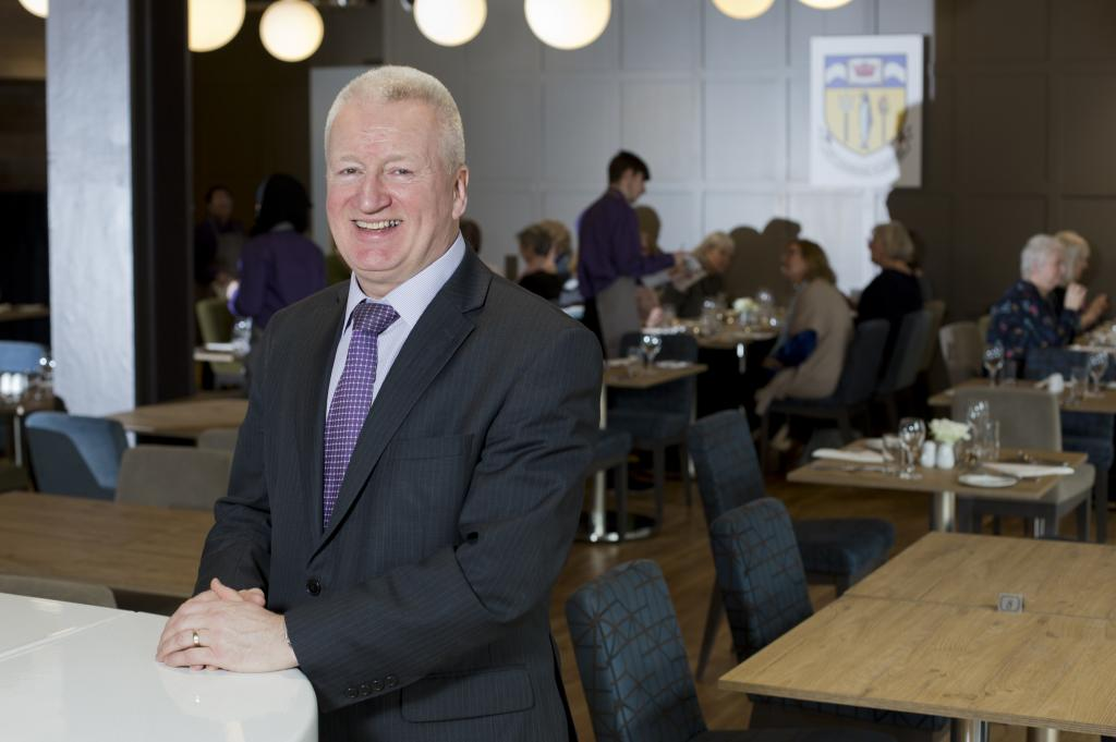 Gordon McIntyre, Associate Dean, Hospitality & Tourism, City of Glasgow College