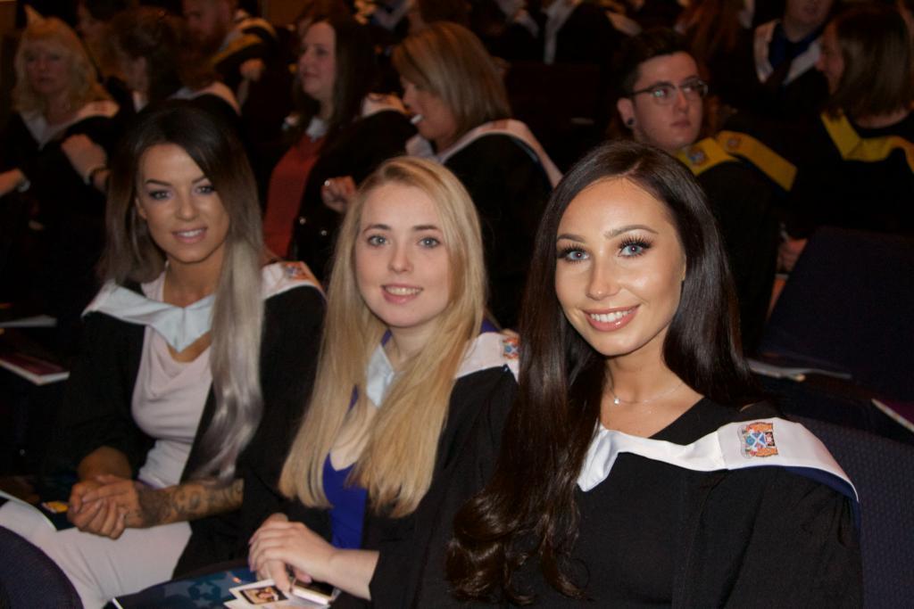 Pupils at award ceremony