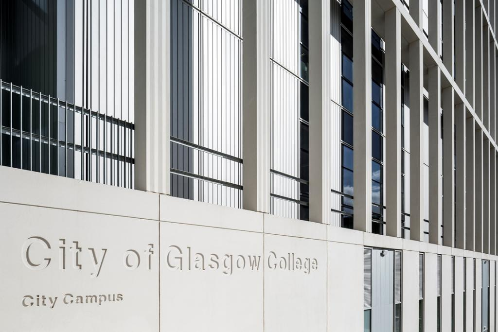 City of Glasgow College City Campus - Keith Hunter Photography