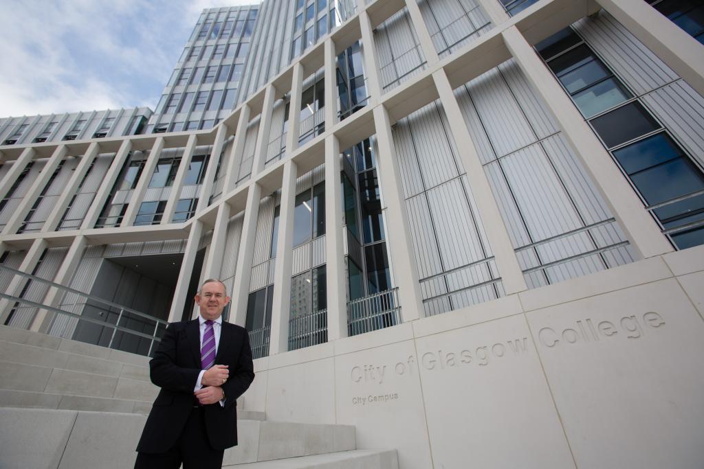 City of Glasgow College Principal & CEO, Paul Little