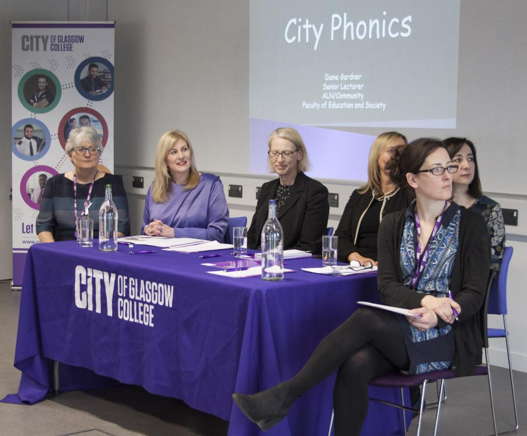 City of Glasgow College_City Phonics Launch_220218