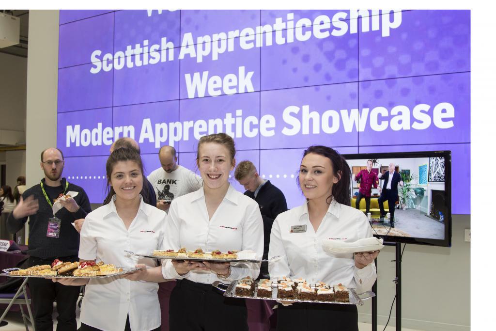 Hospitality Apprentices_CoGC_CalMac Modern Apprentice Showcase