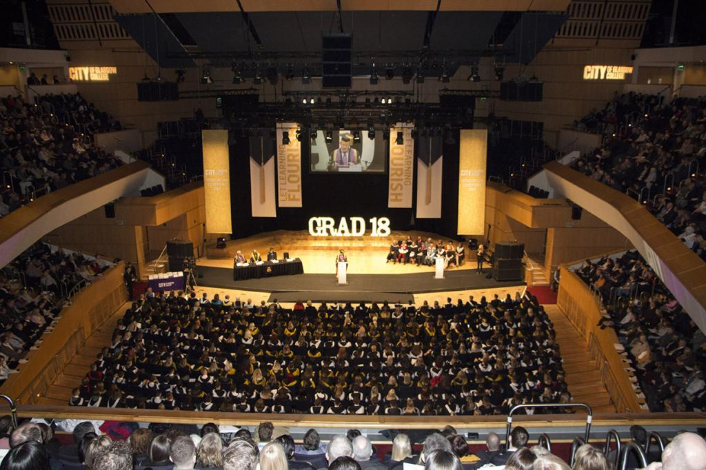City of Glasgow College_Graduation 2018