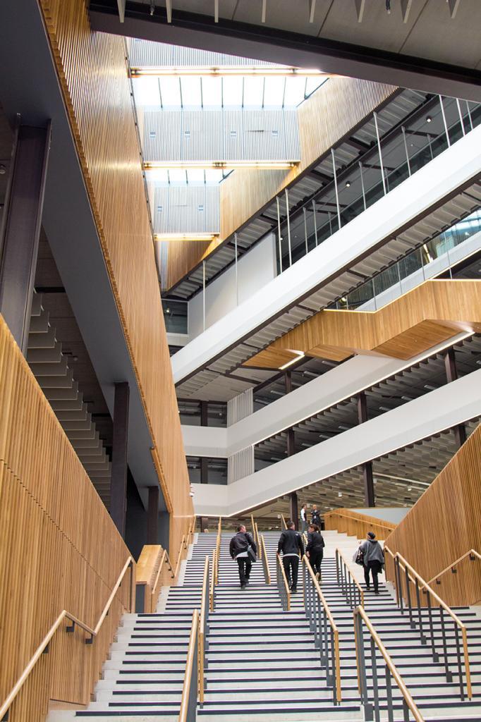 New city Campus Atrium view