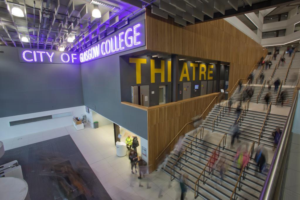 CoGC campus entrance photo