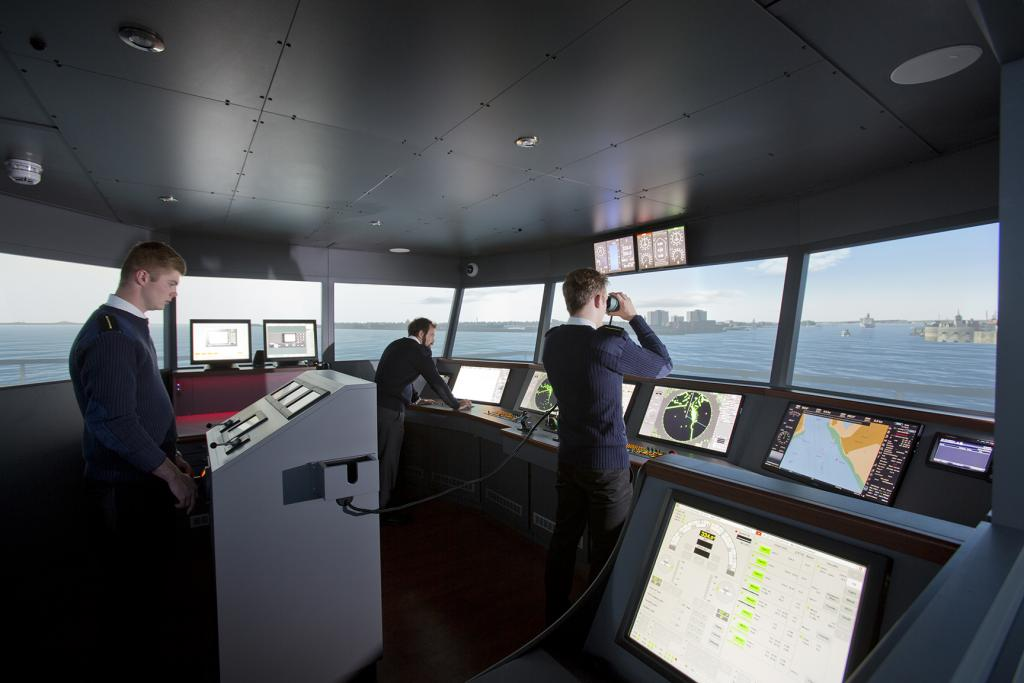 360 Simulation Suite on ship