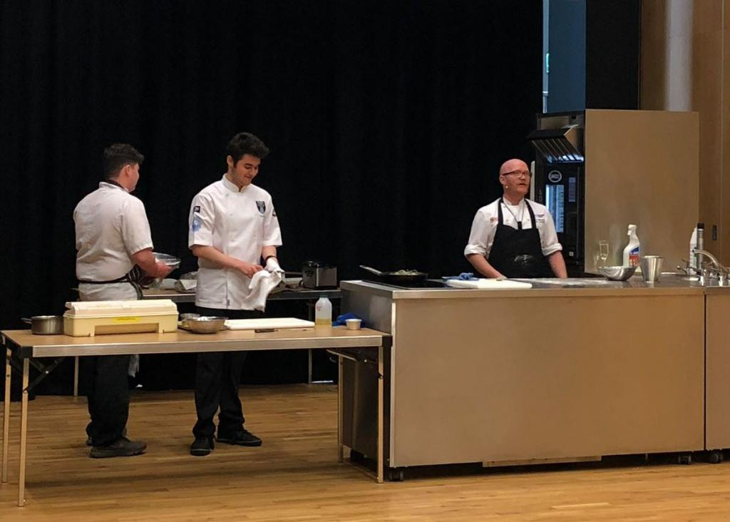 City of Glasgow College Summer Demo with Gary Maclean 4