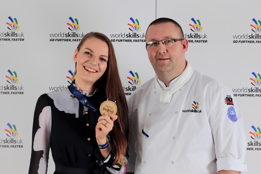 CoGC WorldSkills 2018 Gold Medal Winner_Ance Kristone, Confectionary