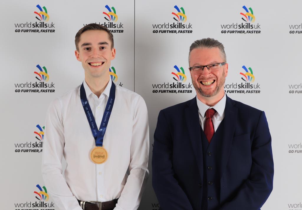 CoGC WorldSkills 2018 Gold Medal Winner_James Ross Findlay, 3D Digital Art